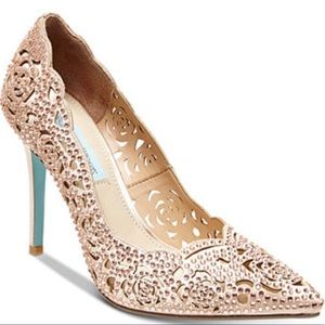Betsey Johnson Elsa Pump in Blush